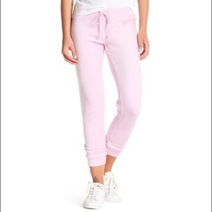 JUICY COUTURE Velvet Joggers Pink Pants Size XS